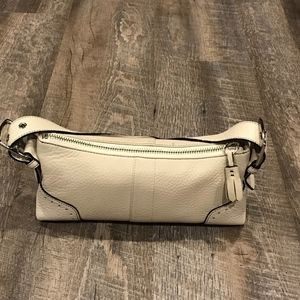 Coach off-white handbag